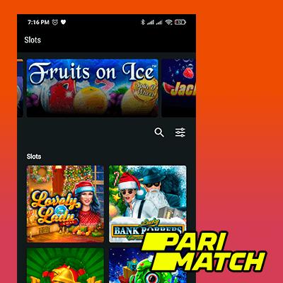 Aplikasi Kasino Parimatch